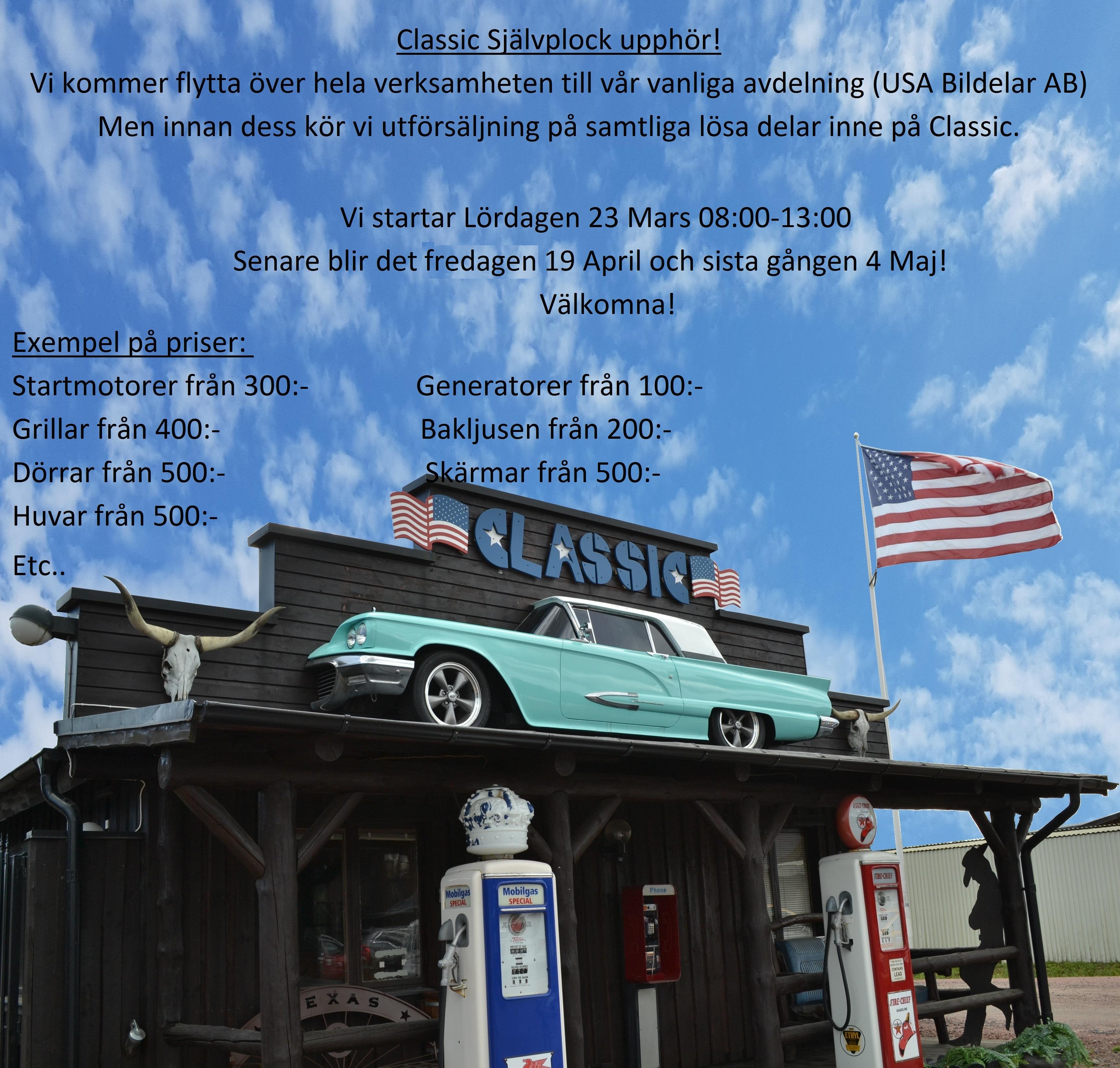 yankee cars bildelar