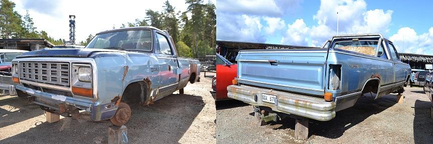 Dodge ram -85
