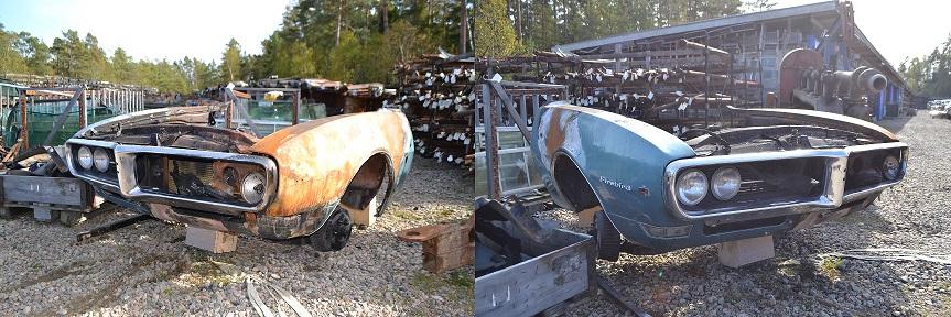 Pontiac Firebird -68